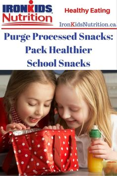 Kids seem to be in a constant state of snacking as families get busier so having healthier snack options is important. Our list of processed snacks to purge School Snacks For Kids, Healthy School Snacks, Healthy Snack Options, Healthy Kids, Healthy Eating, Food Swap, Junk Food, Lunch Ideas, Packing