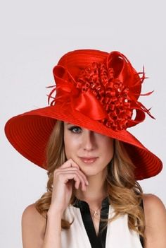 'Lady In Red' Hat