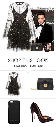 """i'm wishing for you."" by sticthen on Polyvore featuring Elie Saab, MICHAEL Michael Kors, Christian Louboutin, LiamPayne, fanfiction and bittersweet"