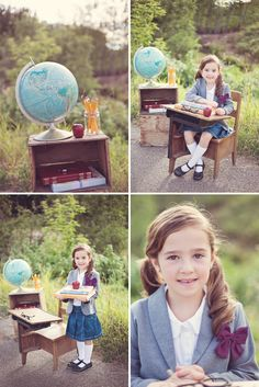 Back to School Portrait Session / On to Baby