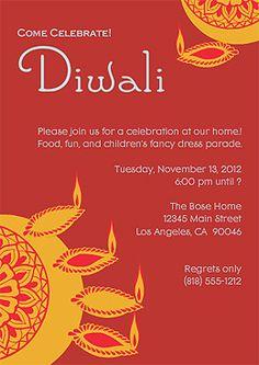 Free Diwali Cards and Free Diwali Invitations