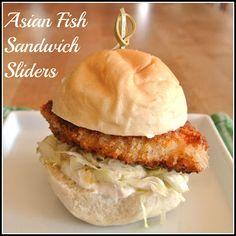 Crispy Asian Fish Sandwich