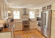 Classic White Wood Kitchen