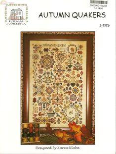 (30) Gallery.ru / Фото #1 - Rosewood Manor S-1326 Autumn Quakers - Marishecka