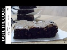 No Cook Meals, Brownies, Chocolate, Channel, Cooking, Desserts, Youtube, Blog, Cake Brownies