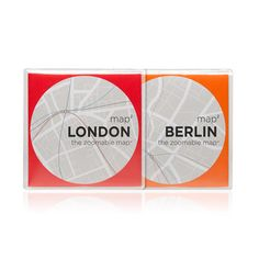 My design inspiration: Zoomable Maps Berlin And London on Fab.