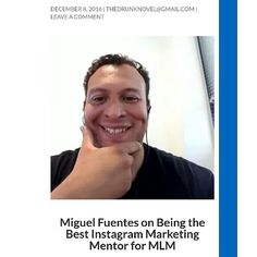 I just finished an interview about mt Instagram marketing strategies. Wow! It was awesome to be featured in this blog post. If you're looking for some great Instagram tips and the story I grew up in. Tap HERE: @migueljfuentes for the link. I shared the strategy I use as well as some personal business. Check it out. HERE: @migueljfuentes Instagram Tips, Instagram Posts, Check It Out, Quotes To Live By, Interview, Living Quotes, Marketing Strategies, Awesome, Business