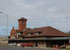 Lackawanna Railroad Station - Binghamton.