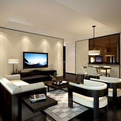 service apartment_armani_living room