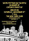 New York Party Theme, invitaitons 40th Birthday Favors, 1st Birthday Parties, Rehearsal Dinner Inspiration, New York Party, Eighth Grade, Throw A Party, Bat Mitzvah, Rehearsal Dinners, City Lights