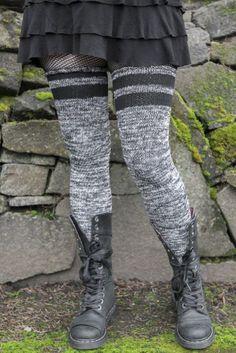 New Music Legs 006 Sheer Nylon Knee Highs