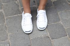 Trini   Converse Jack Purcell white sneakers