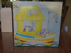 boneco marinheiro trol na caixa como novo Babys, Lunch Box, Table Lamp, Home Decor, Sailor, Boy Doll, Box, Activity Toys, El Greco