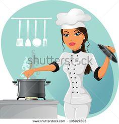 부엌 요리 스톡 벡터 및 벡터 클립 아트 | Shutterstock