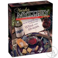 Murder Mystery Party Games - A Taste for Wine and Murder, Host Your Own Murder Mystery Dinner for 8 Adult Players, Solve the Case with Crime Scene Clues, 18 Years and Up Mystery Dinner Party, Mystery Dinner Theater, Dinner Party Games, Mystery Parties, Dinner Parties, Themed Parties, Summer Parties, Mafia, Wein Parties