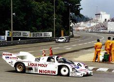 Walter Brun - Porsche 956 - Brun Motorsport - 200 Meilen von Nürnberg - DRM Norisring - 1983 Internationale Deutsche Rennsport Meisterschaft, round 5