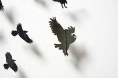 Kuş tüylerinden yaptıklarına inanamayacaksınız Mart, Leaf Tattoos, Feather, Feathers, Quill
