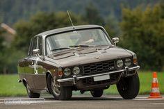 So sieht es aus, wenn der Neigungswinkel stimmt -  Rover V8 3500S Mehr dazu auf Zwischengas  © Daniel Reinhard Rover P6, Auto Rover, West Midlands, Old Skool, Motor Car, Cars And Motorcycles, Cool Cars, Classic Cars, Automobile