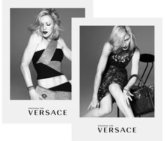 Madonna for Versace Spring 2015 Ad Campaign #thatdope #sneakers #luxury #dope #fashion #trending