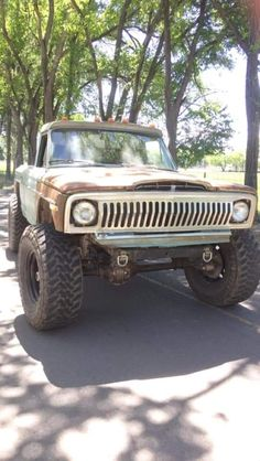 Jeep Wagoneer, Jeep Xj, Jeep Pickup, Jeep Truck, Dodge Trucks, 4x4 Trucks, Cool Trucks, Lifted Jeeps, Old Jeep