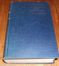 1929 hardcover THE ABINGDON BIBLE COMMENTARY Frederick Carl Eiselen