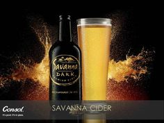 Discover the pure gold, full flavoured refreshment of Savanna Dark Whiskey Bottle, Vodka Bottle, The Pure, Heritage Month, Apple Cider, Pure Products, Wine, Dark