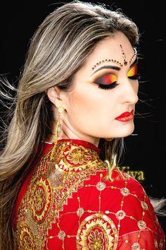 Arabic Makeup Kris Xiva