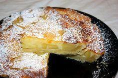 Crostata cremosa di mele al profumo di cannella
