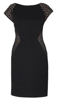 Joseph Ribkoff Black Dress.  Style 143412.