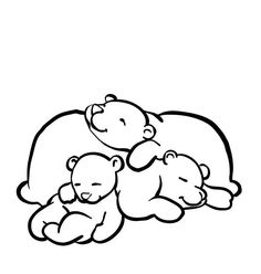hibernation craft preschool together with hibernating bear cave craft clipart Forest Animals, Woodland Animals, Kindergarten Games, English Kindergarten, Animal Activities, Preschool Activities, Kids And Parenting, Baby Quilts, Coloring Pages