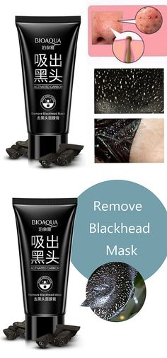 Black Mask Blackhead Masks Remover Facial Peel Off Deep Cleaning Blackhead Mask, Black Mask, Deep Cleaning, Face Care, Health And Beauty, Facial, How To Remove, Good Things, Masks