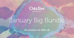Check out January Big Bundle by on Creative Market