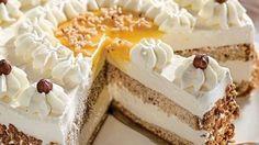 Nuss-Eierlikör-Torte