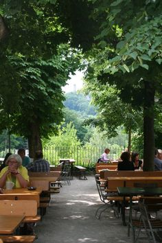 Biergarten Greifenklau - Bamberg, Germany