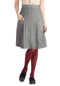 Jot That Down Skirt, #ModCloth