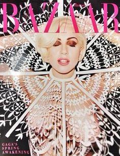 Lady Gaga Harpers Bazaar Cover