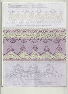 crochet edging pattern (book with charts)
