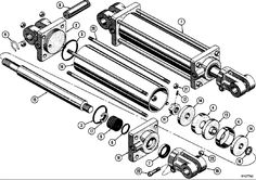 If it's an older system, it could be that the hydraulic cylinder is internally worn and the fluid is bypassing the seals. Description from hydrauliconline.com. I searched for this on bing.com/images