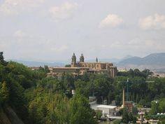 Vista panorámica de la Catedral de Pamplona