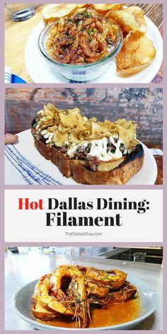 Take a taste tour of hot #Dallas #restaurant Filament! | TheDallasDiva.com