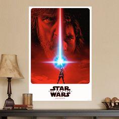 Póster adhesivo Star Wars Episodio VIII - VINILOS DECORATIVOS Blues Brothers, Indiana Jones, Pulp Fiction, War, Movie Posters, Tv Series, Adhesive, Vinyls, Film Poster
