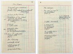 Jim Morrison Fear poem