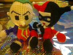 Jokers, Amigurumi and Harley quinn on Pinterest