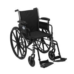 """Drive Medical Cruiser III Light Weight Wheelchair 20"""""""