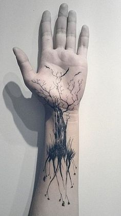 Wrist Tree Tattoos