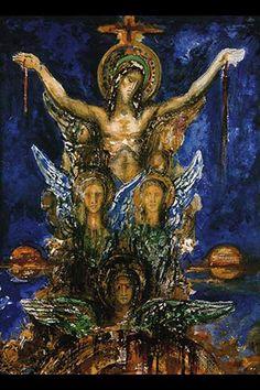 Christ, by Gustav Moreau