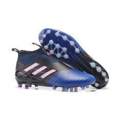 premium selection 9f1c8 f9aad Adidas ACE 17 PureControl AG Soccer Boots Blue Black White Pink