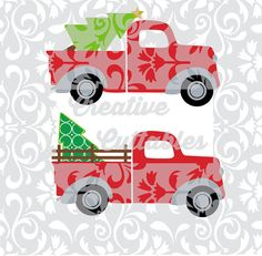 Hey, I found this really awesome Etsy listing at https://www.etsy.com/listing/239734286/christmas-svg-tree-truck-for-silhouette