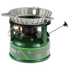 Docooler BRS Super powerful Outdoor Compact Oil Stove Cooking Stove Utensil Cookware Oilburning Boiler for Picnic 530 Persons Driving Tour BRS Gasoline Diesel *** More info could be found at the image url.
