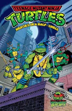 Teenage Mutant Ninja Turtles: Heroes in a Half-Shell (Teenage Mutant Ninja Turtles (Archie Comics)) Teenage Mutant Ninja Turtles, Ninja Turtles 1, Teenage Turtles, Tmnt, Bebop And Rocksteady, Comic Art Community, Archie Comics, Classic Cartoons, Batman Vs Superman